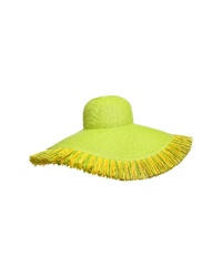 gelbgrüner Hut