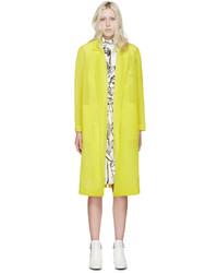 gelbgrüner Mantel