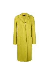 gelbgrüner Mantel von A.N.G.E.L.O. Vintage Cult
