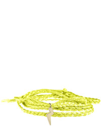 gelbgrünes Armband