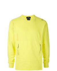 gelbgrünes Sweatshirt