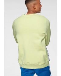 gelbgrünes Sweatshirt von adidas Originals