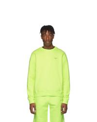 gelbgrünes Sweatshirt von Off-White