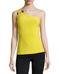 gelbgrünes Trägershirt