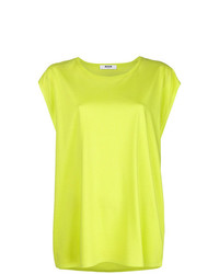 gelbgrünes Trägershirt von MSGM