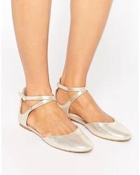 goldene Ballerinas von Aldo