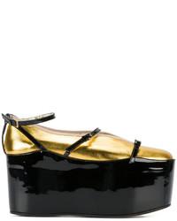 goldene Ballerinas von Gucci