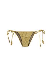 goldene Bikinihose von Martha Medeiros