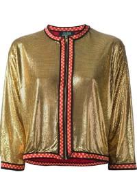 goldene Bomberjacke von Jean Paul Gaultier