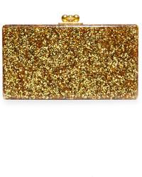 goldene Clutch von Edie Parker