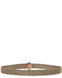 goldene enge Halskette aus Seide von Carolina Bucci