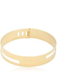 goldene enge Halskette