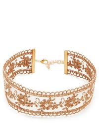 goldene enge Halskette von Chan Luu