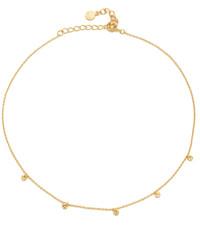 goldene enge Halskette von Gorjana