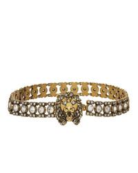 goldene enge Halskette von Gucci