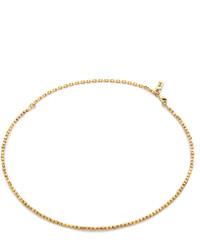 goldene enge Halskette von Vanessa Mooney