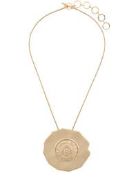 goldene Halskette von Balmain