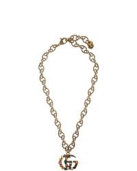 goldene Halskette von Gucci