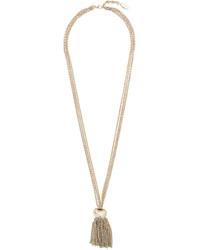 goldene Halskette von Lanvin