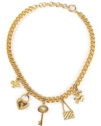 goldene Halskette von Moschino
