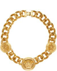 goldene Halskette von Versace