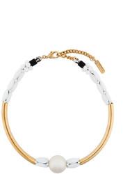 goldene klobige enge Halskette von Rada'