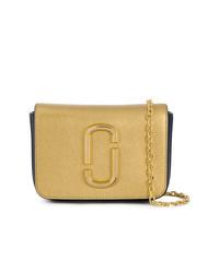 goldene Leder Bauchtasche von Marc Jacobs