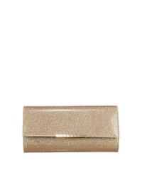 goldene Leder Clutch von Buffalo