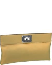 goldene Leder Clutch von Joop!
