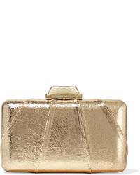 goldene Leder Clutch von Kotur