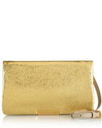 goldene Leder Clutch von Marc by Marc Jacobs