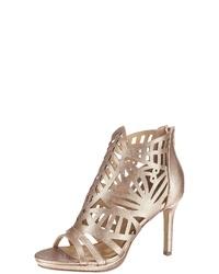 goldene Leder Sandaletten von Bullboxer