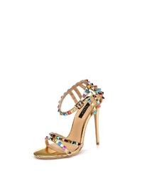 goldene Leder Sandaletten von Giaro