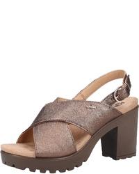 goldene Leder Sandaletten von IGI&Co