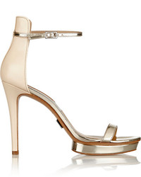 Modische goldene Sandalen für Damen von Michael Kors für