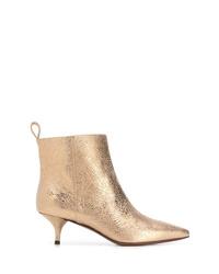 goldene Leder Stiefeletten von L'Autre Chose