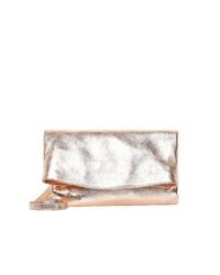 goldene Leder Umhängetasche von myMo