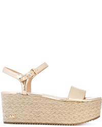 Modische goldene Sandalen für Damen von MICHAEL Michael Kors