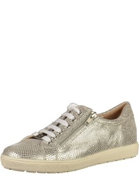 be1d76791262cb Modische goldene niedrige Sneakers für Damen für Winter 2019 kaufen ...