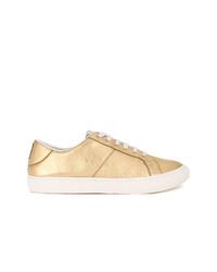 goldene niedrige Sneakers von Marc Jacobs