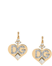 goldene Ohrringe von Dolce & Gabbana