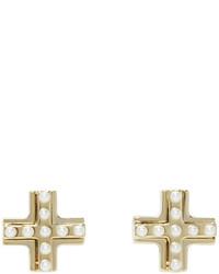goldene Ohrringe von Givenchy