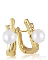 goldene Ohrringe von goldmaid