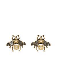 goldene Ohrringe von Gucci