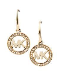 goldene Ohrringe von Michael Kors