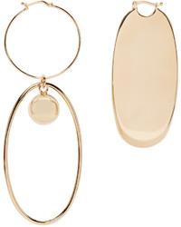 goldene Ohrringe von Stella McCartney
