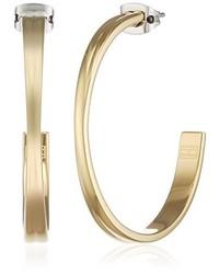 goldene Ohrringe von Tommy Hilfiger