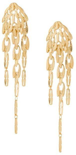goldene Ohrringe von Wouters & Hendrix