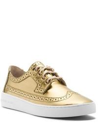 goldene Oxford Schuhe