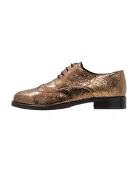 goldene Oxford Schuhe von Minelli